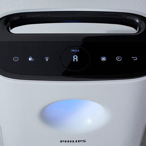 Philips Luftreiniger Test AC3256-10 Hepa Feinstaub