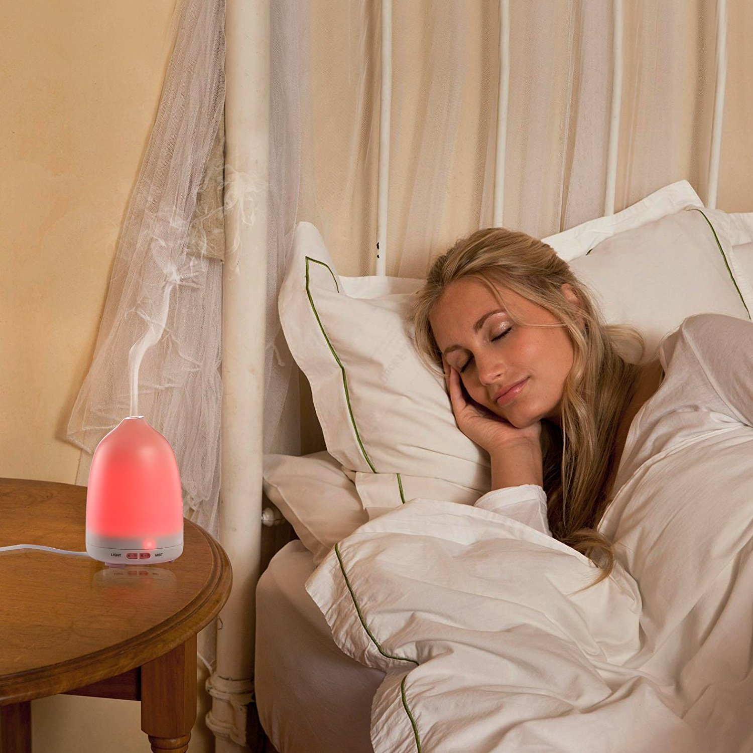 Soft Digits Aroma Diffuser Luftbefeuchter Öl Duftlampe