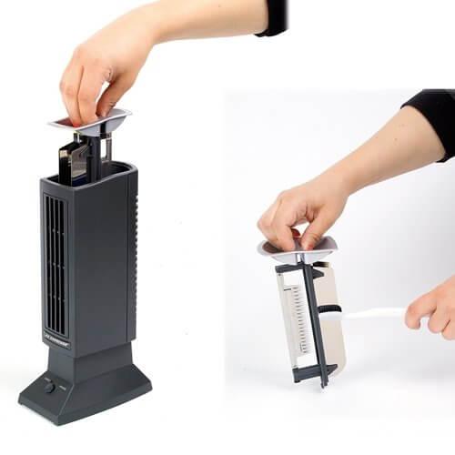 Tevigo Luftreiniger ohne Filter Test Ionisierer