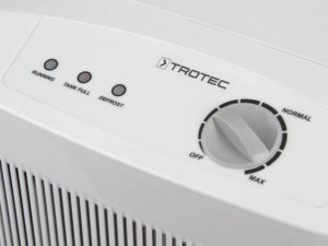 Luftentfeuchter können individuell eingestellt werden