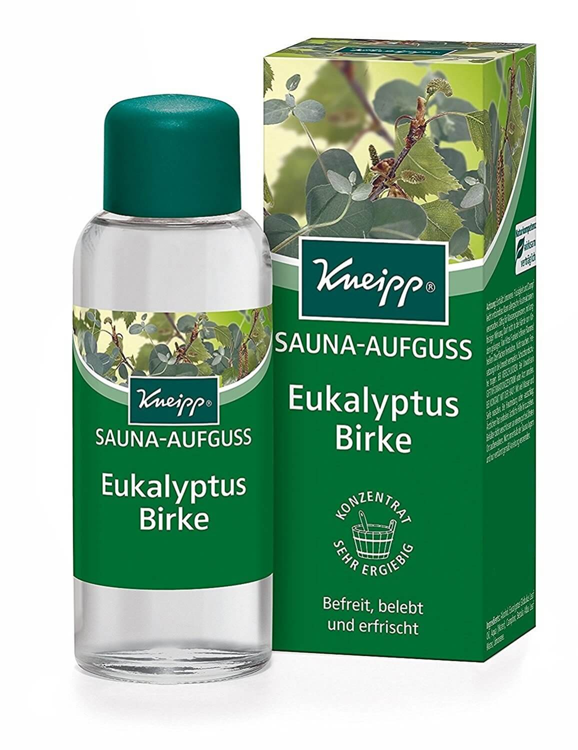 kneipp sauna aufguss sauna le eukalyptus und birke luftreiniger test. Black Bedroom Furniture Sets. Home Design Ideas