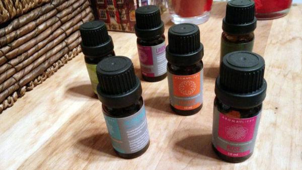 Duftöl Set für den Aromaliebe Pebble Duft Diffuser