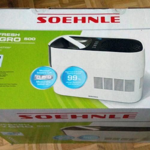 Soehnle Luftbefeuchter Airfresh Hygro 500 originalverpackt